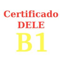 Certificado español DELE B1
