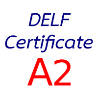 DELF test A2