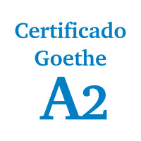 Certificado alemán GOETHE A2